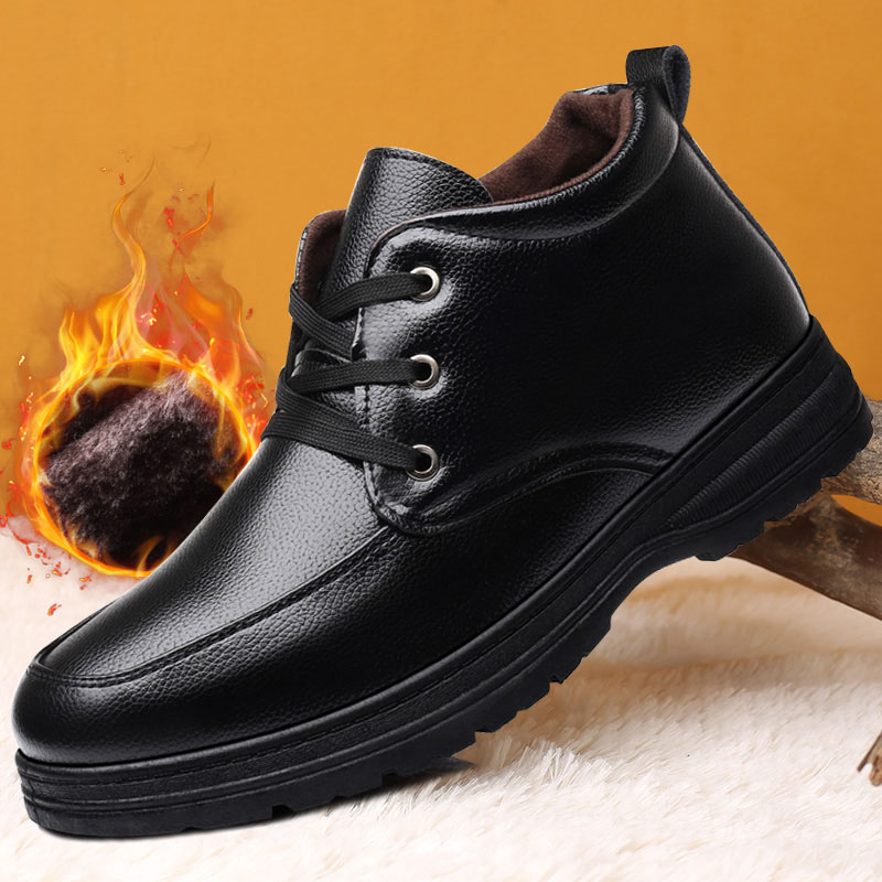 New cotton shoes for mens leisure in autumn and winter