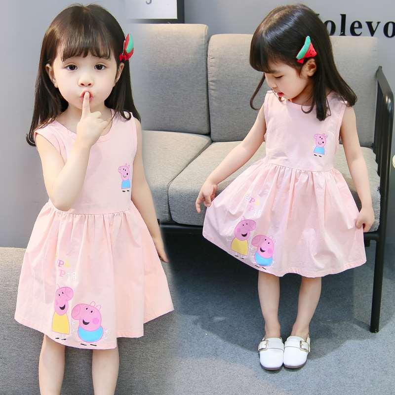 1歳から4歳までの2つの夏は3つの女の子の子供服のワンピースがあります。