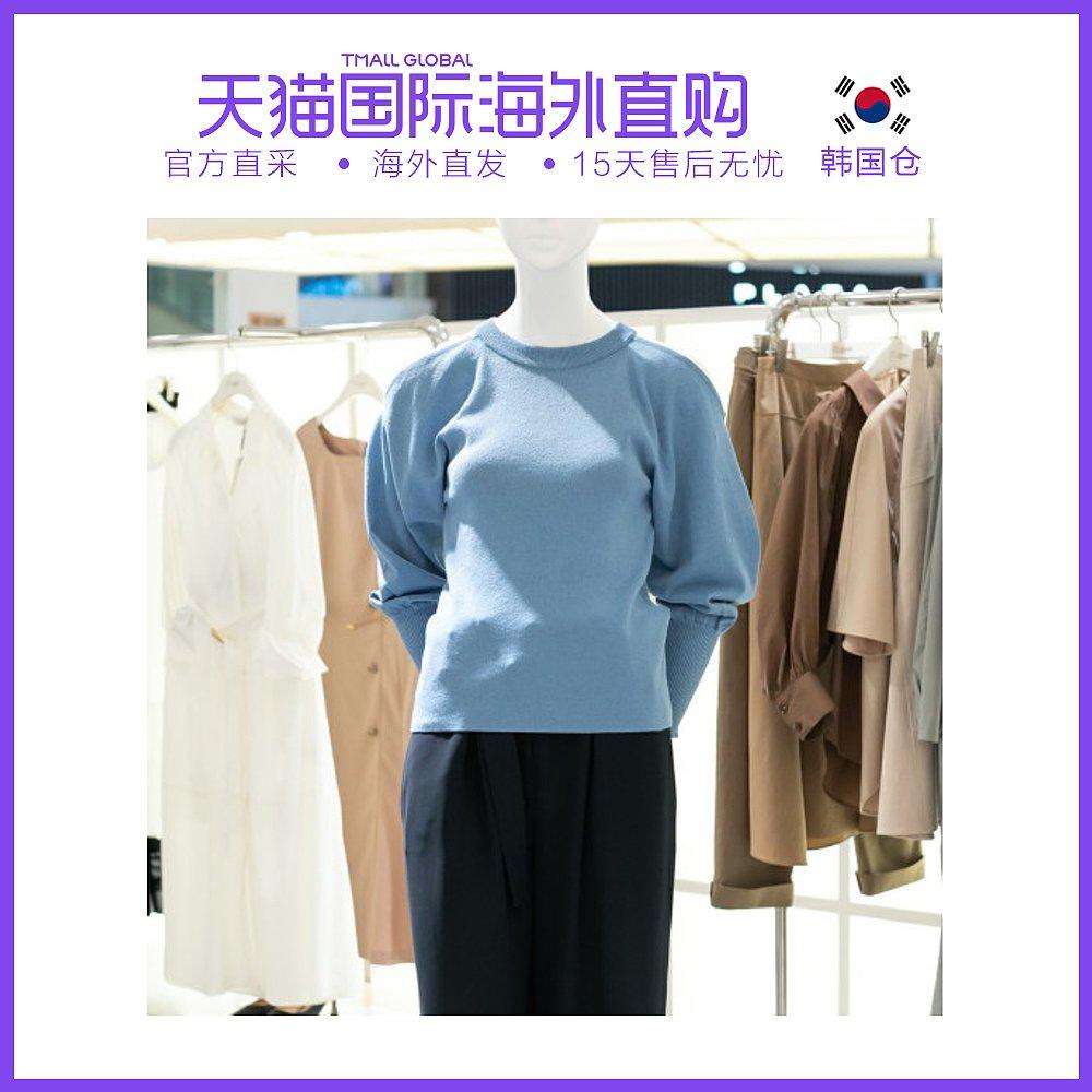 韩国直邮[ZOOC] [ZOOC]气球袖圆形针织衫Z203KSK010