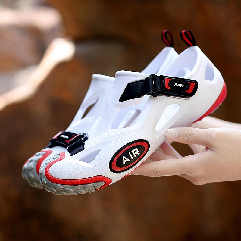 Summer single speed dry shoes outdoor sports cycling shoes mens and womens drainage mountain bike racing shoes