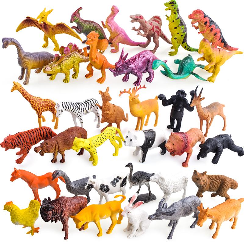 儿童恐龙玩具软塑胶仿真动物牛模型