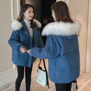 以純A21专柜正品棉服女冬2019年新款潮棉袄韩版宽松棉衣女短款面
