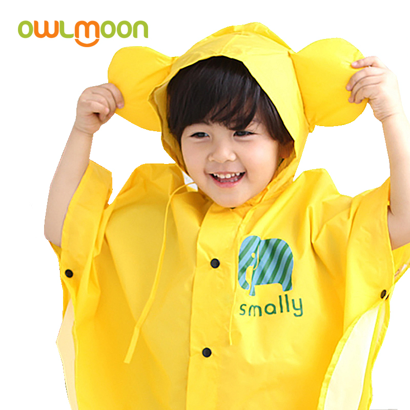 Childrens poncho raincoat boys and girls poncho rain shoes set kindergarten childrens raincoat 2-6 years old poncho raincoat