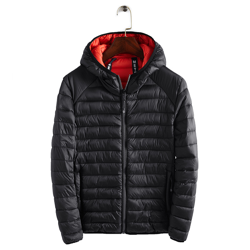 New  Winter Ultralight Mens Cotton Down Jackets Lightweight