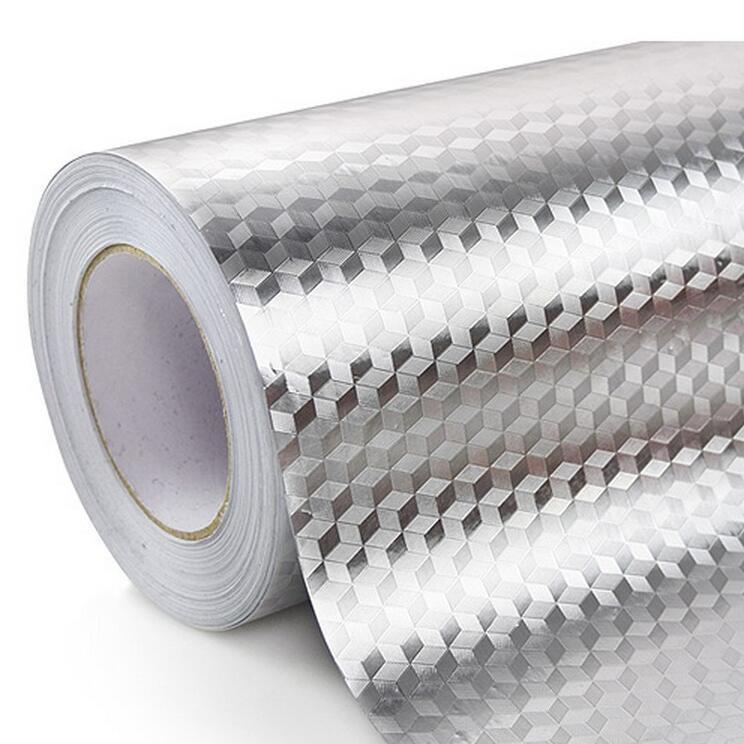 自粘加厚铝箔橱柜垫铝膜贴纸厨房防油污垫抽屉垫鞋柜衣柜防潮垫