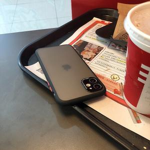 黑色轻砂镜头苹果11手机壳xsmax透明7plus苹果x硅胶iphone11promax硬壳8p磨砂简约11pro防摔xr男女6s时尚新款