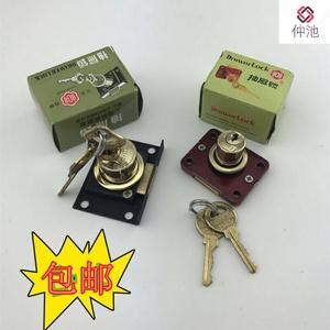 抽屉锁 老式808锁 大芯家具锁 橱柜锁 柜门锁 正面锁 抽屉锁