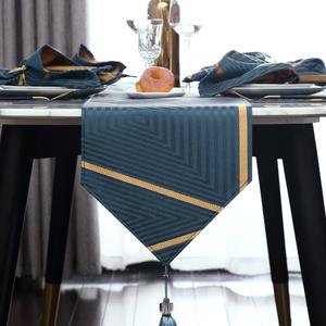 桌旗现代简约北欧式ins床旗床尾巾茶几餐桌装饰布长条轻奢华桌布