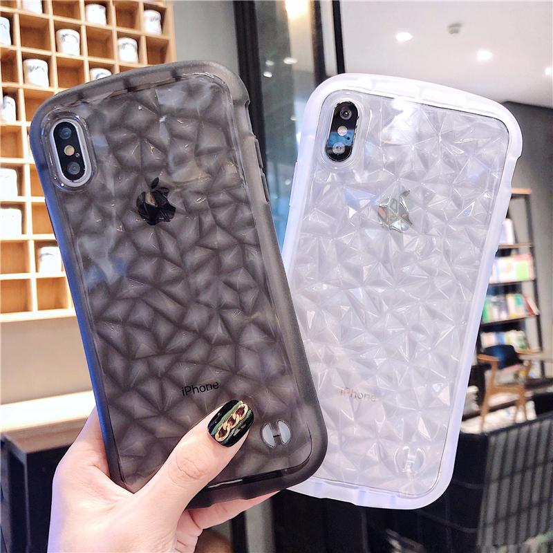 菱形小蛮腰苹果xr手机壳iphone xs max情侣7plus硅胶防摔iPho热销26件限时抢购