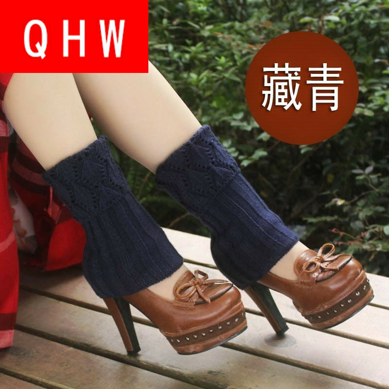 Foot care, wrist, wool, winter feet, warm feet, neck, socks, womens South Korea ankle care, autumn and winter knitted boots, foot sets, socks