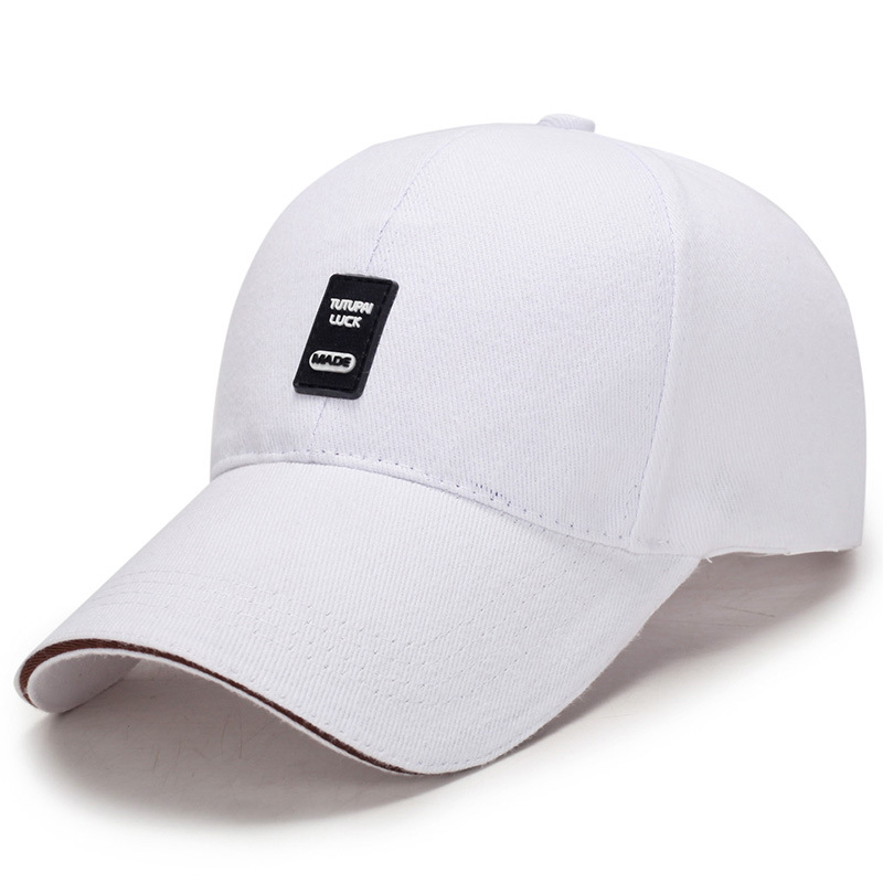 Old mans hat male summer sun hat fathers leisure cap old grandfathers spring and autumn Baseball Cap White