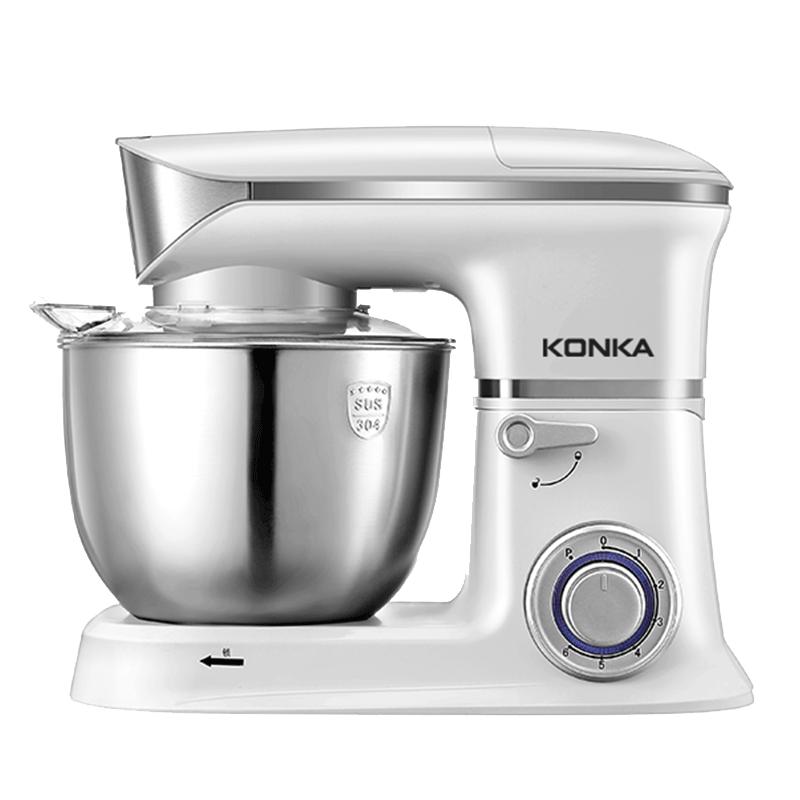 康佳厨师机家用和面机揉面机小型打蛋器全自动多功能绞肉搅拌5斤