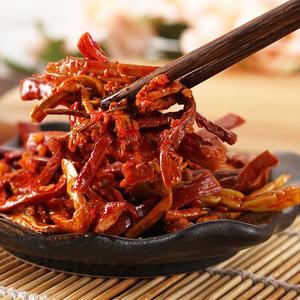 80g*10袋山椒龙爪菜麻辣零食小蕨菜