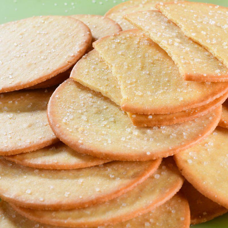 香蕉味菠萝味大饼亿利达(雷布特)代早餐水果味薄饼干办公室零食