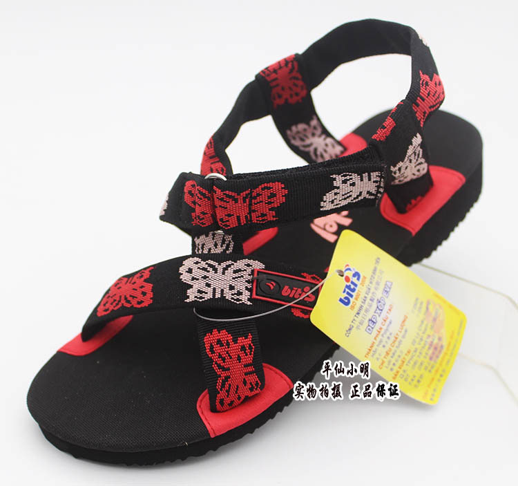 Popular impulse a pair of fast bitis genuine imported Vietnamese shoes Ping Xian shoes women sandals 2 color beach shoes 1582