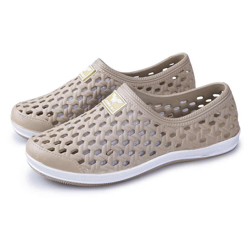 All inclusive plastic sandals for men, breathable, soft and wear-resistant in summer, waterproof in rainy days, seaside beach shoes