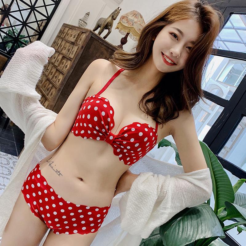 少女日系文胸小胸平胸学生调整型(用40元券)