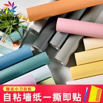 立體背景墻壁紙3D墻紙臥室溫馨宿舍防水歐式田園客廳PVC米加厚10