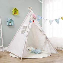 梦幻儿童帐篷室内公主女孩过家家小屋装饰ins房间三角城堡屋小帐