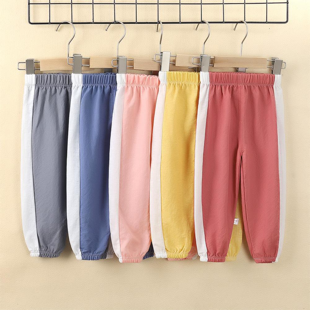 防蚊裤薄款男女童灯笼裤棉婴儿裤子