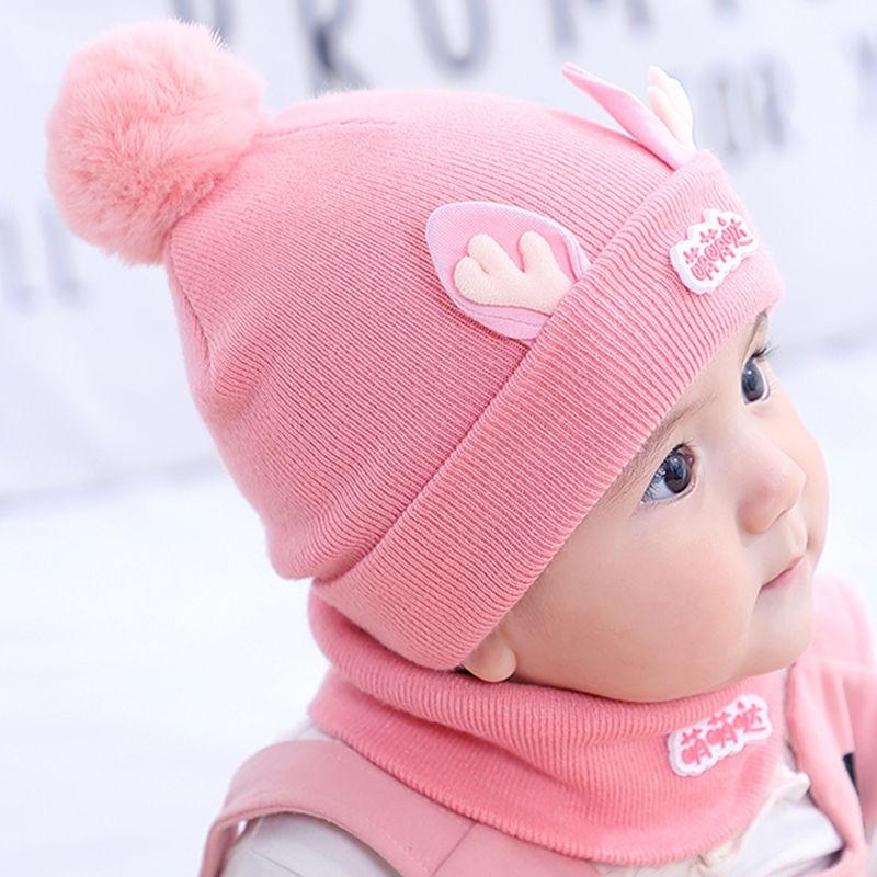 秋冬可爱超萌0 3-6个月1婴儿帽子