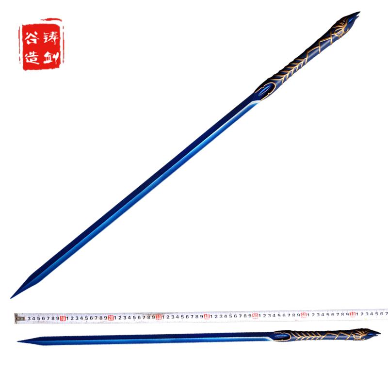 铸剑谷 望舒剑 114厘米 韩菱纱 仙剑奇侠传4昆仑琼华派双剑未开刃