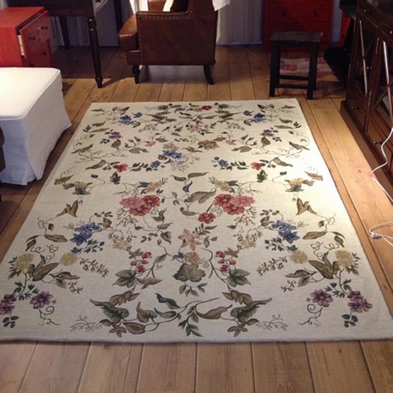 家用床边毯雅致卧室提花地垫现代入户门风格多尼尔欧式门垫可机洗