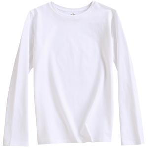 白色t恤长袖2021年春季新款打底衫