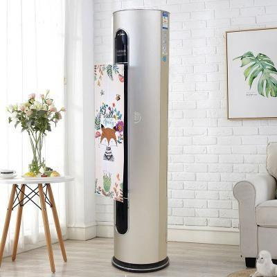 Wind direction change of vertical air conditioner
