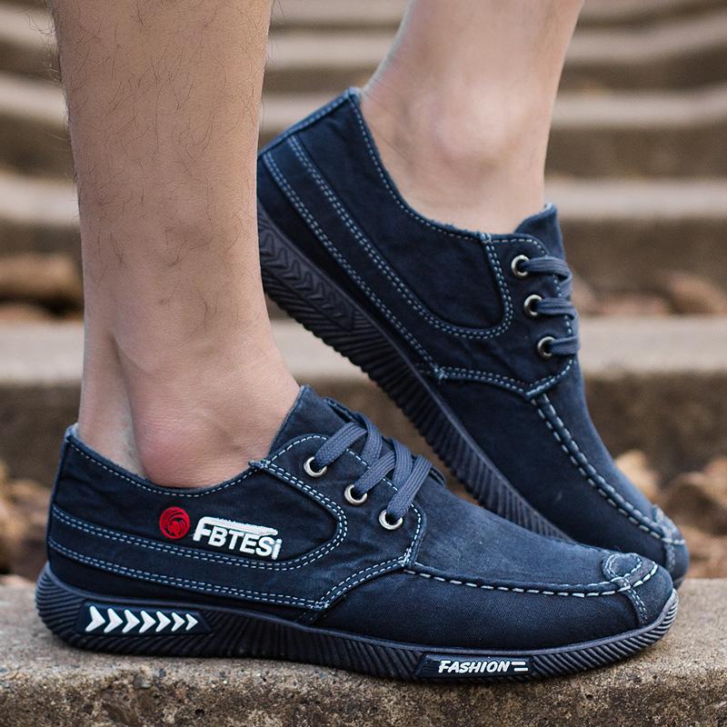 男士夏季新款布鞋老北京布鞋透气防臭布鞋