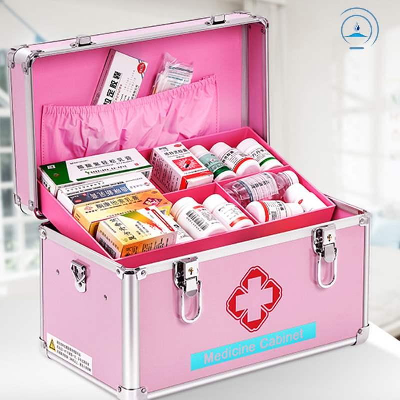 家用带急救包救护箱含用品全套小医箱带药30种家庭医疗套装医药箱