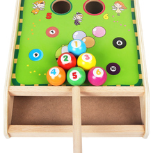 Children's Mini billiards, billiards, children's educational elasticity, 1-3 and a half years old, boys and girls play bowling.