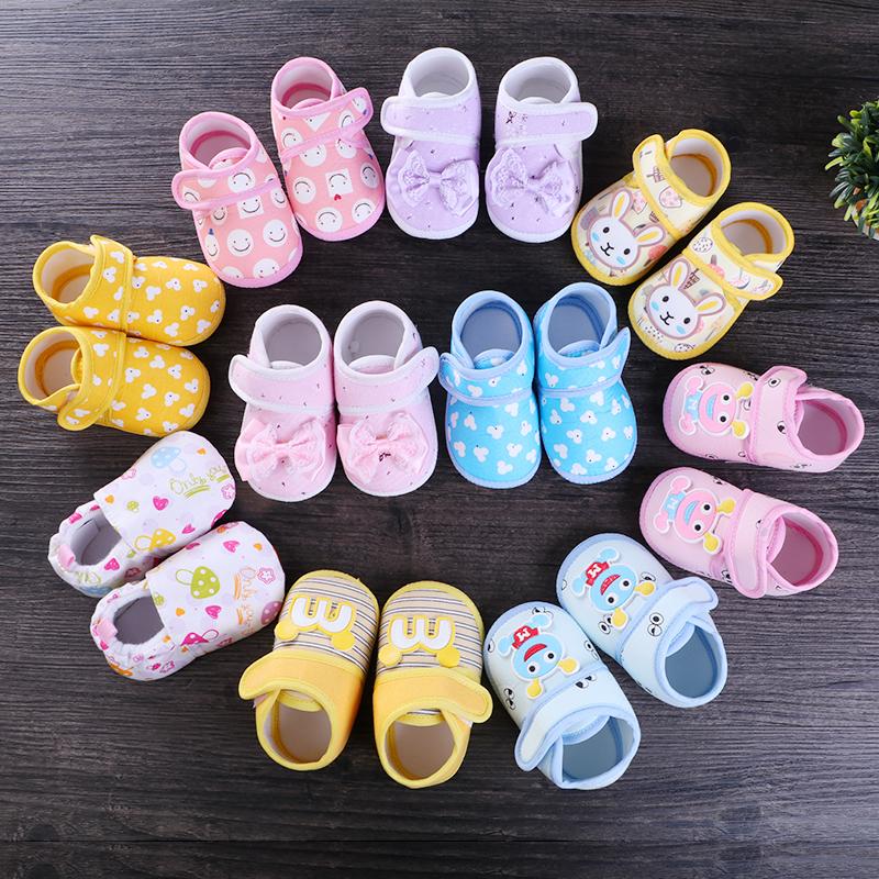 春季亲子软底婴儿学步鞋婴童布鞋子男女宝宝轻便单鞋不掉防滑童鞋