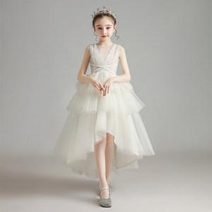 儿童礼服公主裙洋气女童走秀演出服