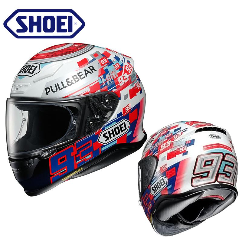 日本进口SHOEI Z7摩托车头盔电源键马奎斯男女Z-7防雾全盔跑盔