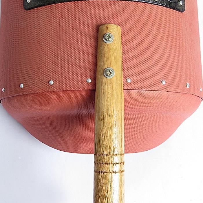 电焊面罩 防烤脸面照罩脸红钢纸 手持式 加厚焊工专用防火星焊接