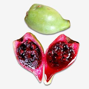 仙人掌果实仙人果迷你绿皮新鲜水果