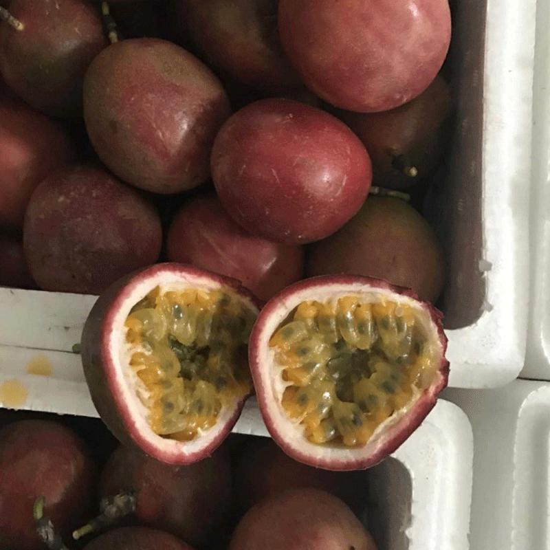 水果广西百香果西番莲鸡蛋果 产地直供 现摘现发5斤带箱装包邮热销0件手慢无
