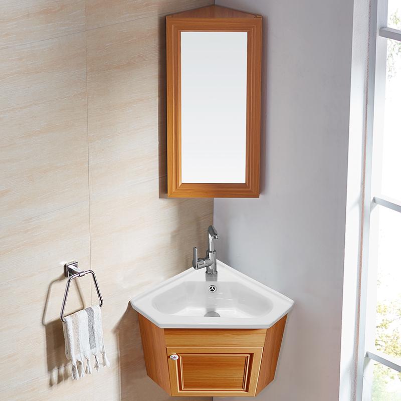 热销0件限时抢购小户型三角形洗手盆柜卫生间浴室柜