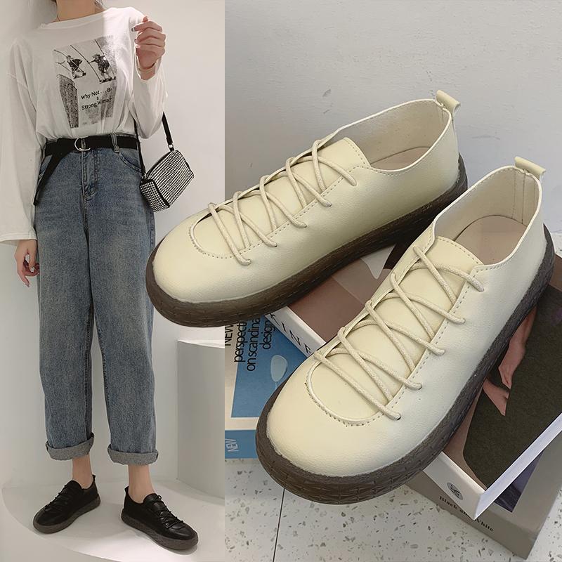 春英伦小皮鞋复古2021年新款工作鞋质量如何