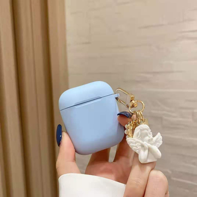 Luxury Ladys Pearl Angel Case for Apple AirPods Pro Case fo