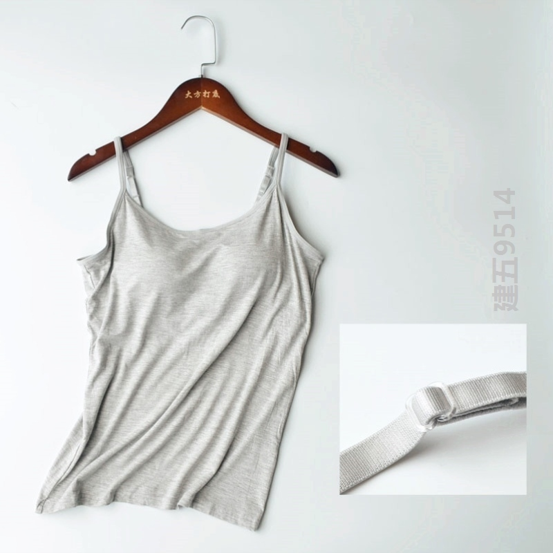 Drop bag vest with womens underlay, casual and breathable