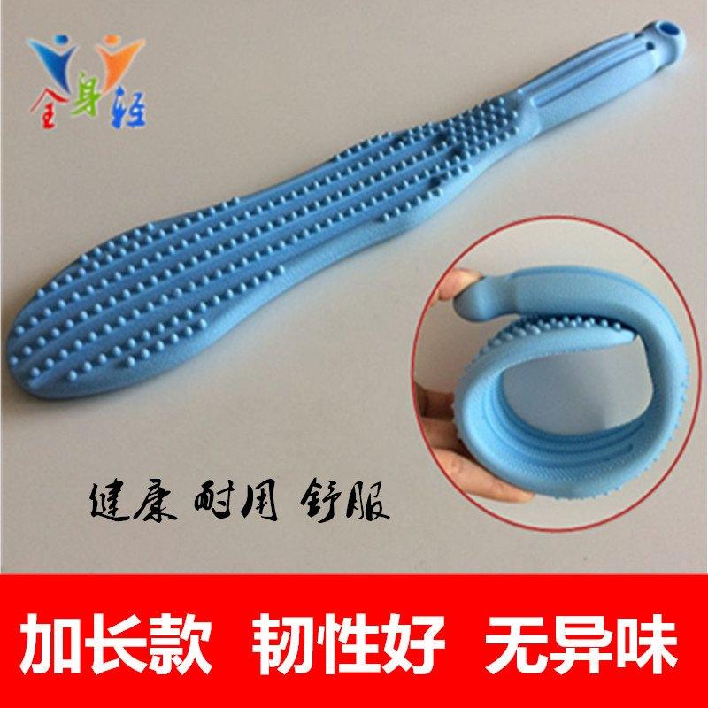 。拍痧板按摩锤子敲背捶经络拍打棒硅胶养生健康拍老人锤腿器按摩