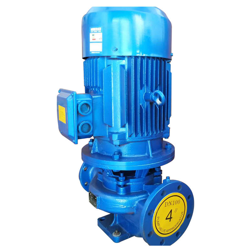 Vertical and horizontal circulating pipeline centrifugal water pump freezing cooling water pump all copper core fire fighting booster make-up pump