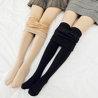光腿肉色打底裤女外穿裸感神器肤色连袜棉裤加绒加厚秋裤秋冬季