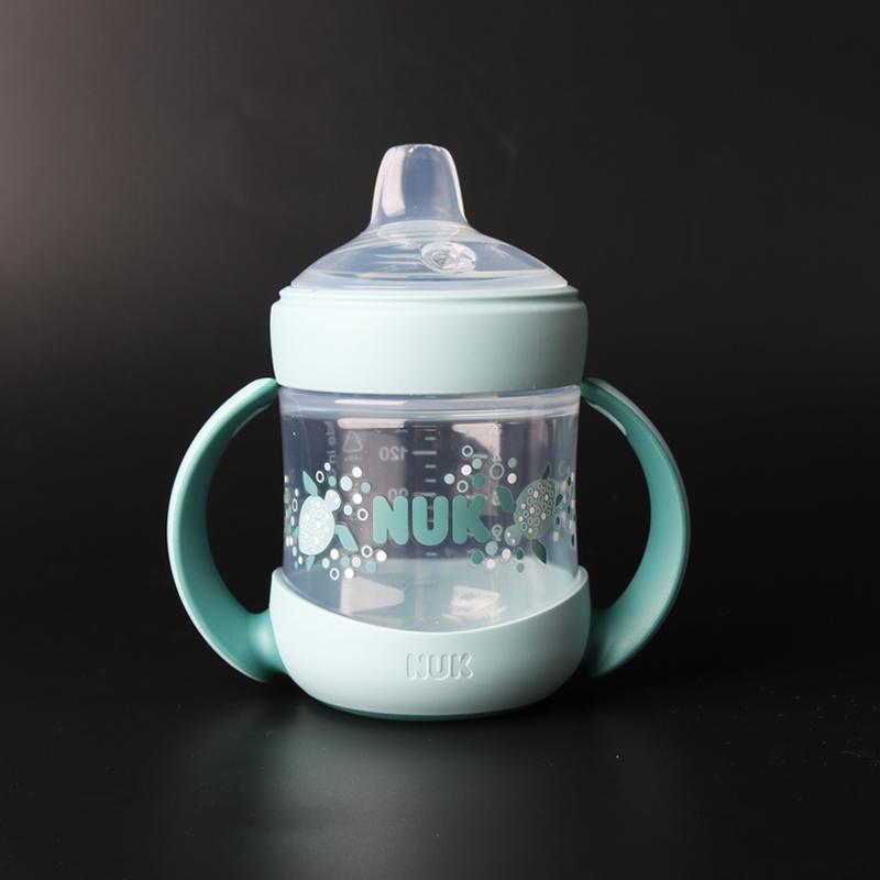 10-10新券水杯喝水杯学饮杯正德国本土进口超宽径鸭嘴杯pp塑料宝宝饮