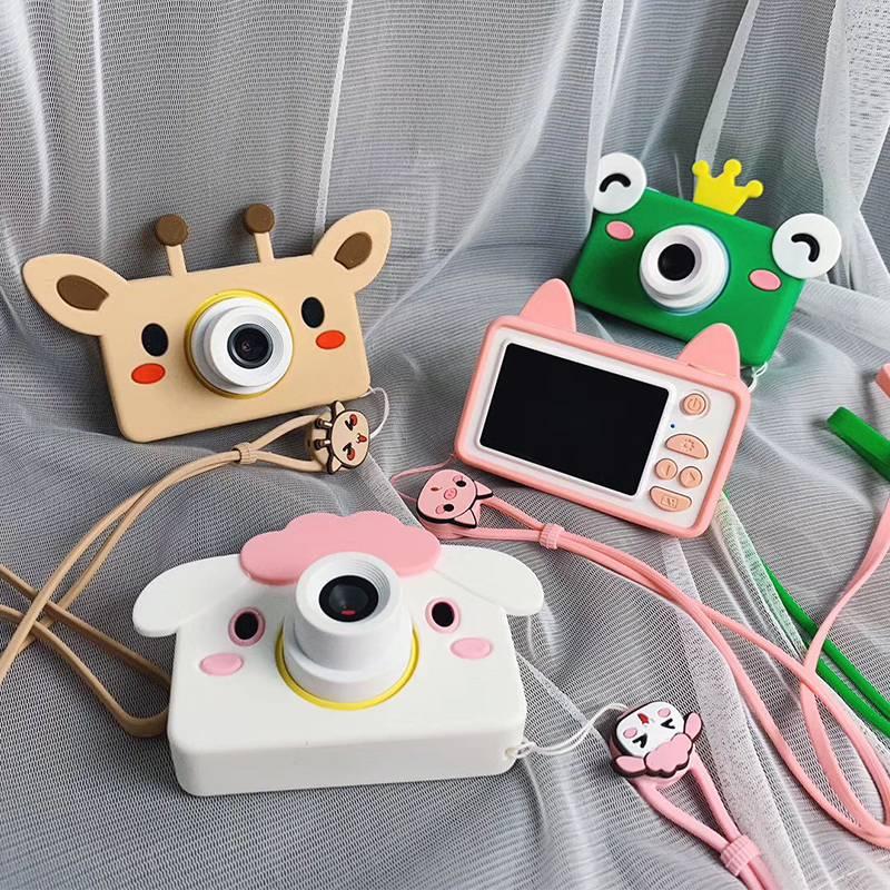 萌卡丘儿童照相机玩具可拍照数码高清迷你小单反宝宝卡通新年礼物