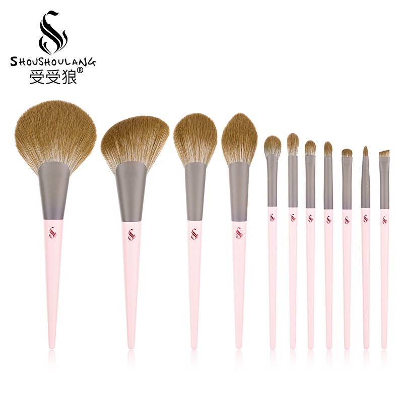 Shoushoulang / Given 11 Cosmetic Brush Sets by Wolf Pudding Refresh Hand Set Cosmetic Tools Delivery Pack