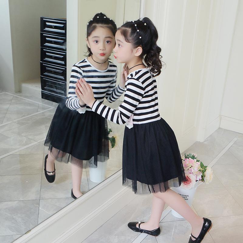 女童连衣裙秋款