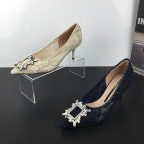 品牌撤柜2021春季新款优雅女单鞋子
